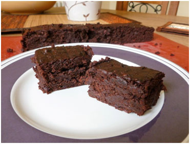 Vegan and Gluten-free Yummy Chocolate Brownie