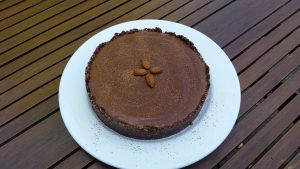 Raw Chocolate Cake recipe by Gayle Merchant Nutritional therapist Northampton